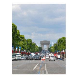 Champs-Élysées, Paris Postcard