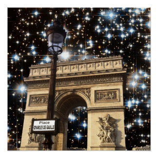 CHAMPS-ELYSEES PERFECT POSTER