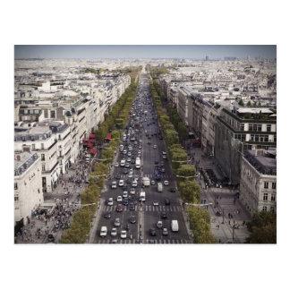 Champs Élysées Postcard