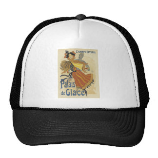 champs-elysees,vintage,reproduction,poster,art dec trucker hat