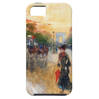 Champs-Elysees where the traffic density is many iPhone SE/5/5s Case
