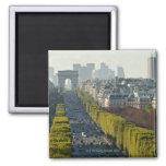 Champs ElysŽes 2 Inch Square Magnet