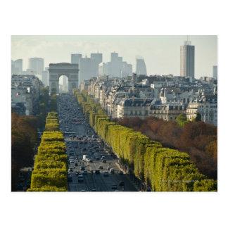 Champs ElysŽes Postcard