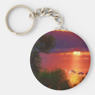 Champy, the Monster of Lake Champlain Keychain