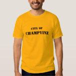CHAMPYINZ, CITY OF SHIRT