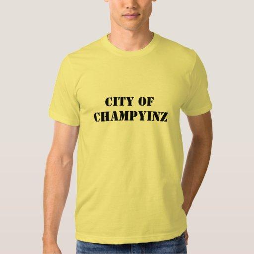 CHAMPYINZ, CIUDAD DE POLERAS