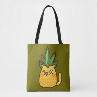 Chananas cat pinapple Bag