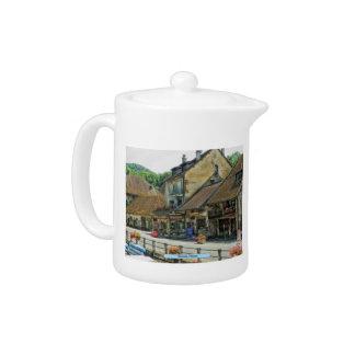 Chanaz, France Teapot