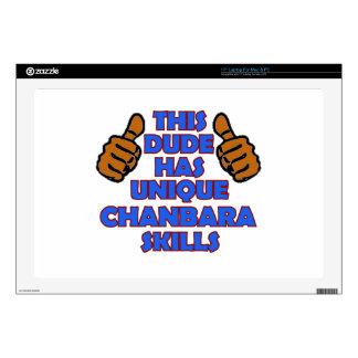 """Chanbara Designs 17"""" Laptop Skins"""