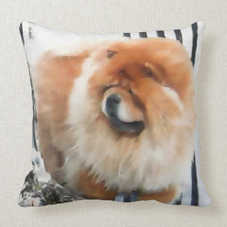 CHANCE CHLOE heARTdog 2 Side pillow