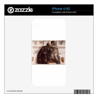 Chance Crowning a Sleeping Man by Paolo Veronese Decals For The iPhone 4
