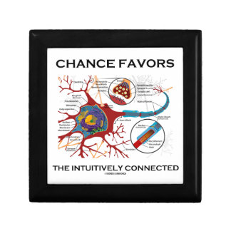 Chance Favors The Intuitively Connected (Neuron) Gift Box