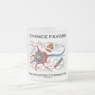 Chance Favors The Intuitively Connected (Neuron) Mug