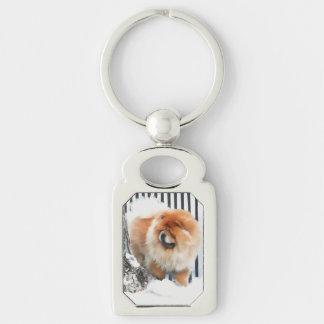 CHANCE heARTdog chow Keychain