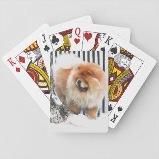 CHANCE heARTdog chow playing cards