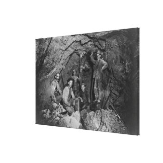 Chance Mine Lead Mining in Coeur d'Alene, ID Canvas Print