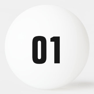 chance numbered balls