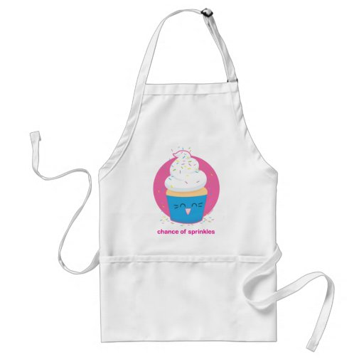 Chance of Sprinkles Adult Apron