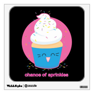 Chance of Sprinkles Wall Decal