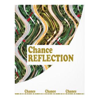 CHANCE REFLECTION : Words Impact ALL SHARE JOY Letterhead