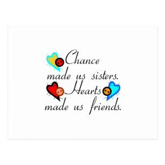 Chance Sisters Postcard