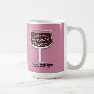 Chance this Could Wine Coffee Mug
