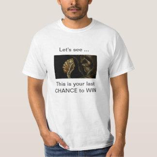 Chance to win T-Shirt