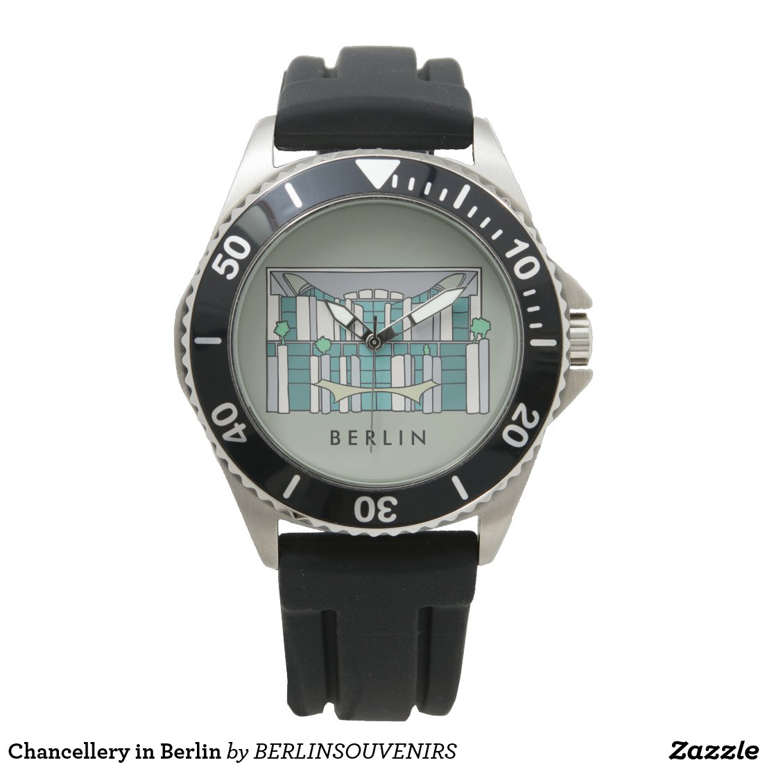 Chancellery in Berlin Wrist Watch