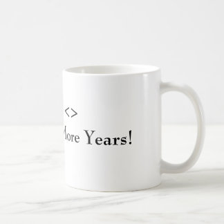 Chancellor cup of lozenge classic white coffee mug