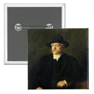 Chancellor Otto von Bismarck , 1849 Pinback Button