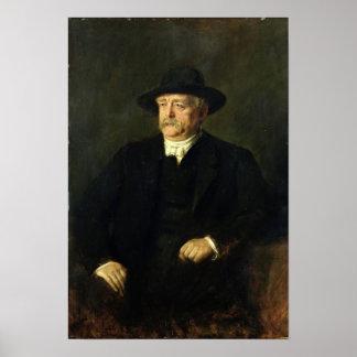 Chancellor Otto von Bismarck , 1849 Poster