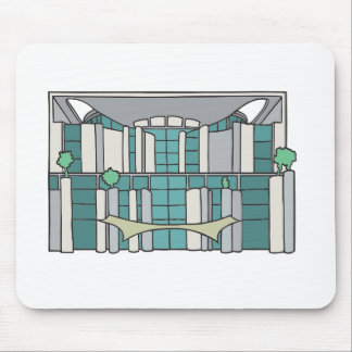 Chancellorship in Berlin Mouse Pad