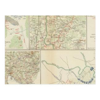 Chancellorsville Buckingham, Appomattox counties Postcard