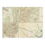 Chancellorsville Buckingham, condados de Appomatto Tarjeta Postal