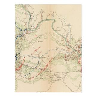 Chancellorsville, iglesia de Salem, Fredericksburg Tarjetas Postales