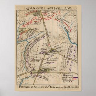 Chancellorsville Poster