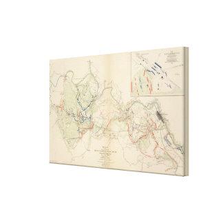 Chancellorsville, Salem Church, Fredericksburg Stretched Canvas Prints