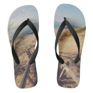 Chanclas Flip Flops Photo by Zak Suhar