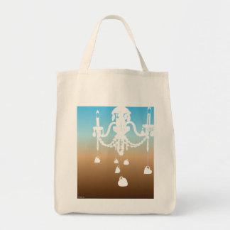 Chandelier bag (sky coffee)