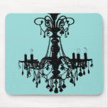 Chandelier Blue Mouse Pads