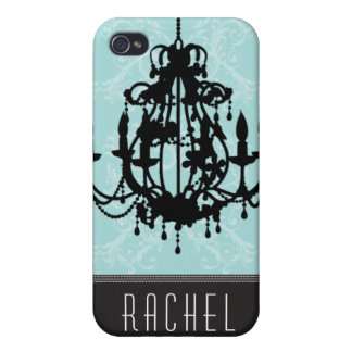 CHANDELIER DAMASK iPhone 4/4S CASES