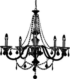 Chandelier table pendant lamps zazzle chandelier desk lamp aloadofball Gallery