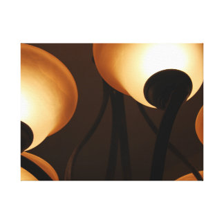 Chandelier Display Canvas Print