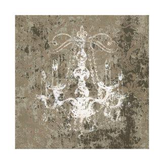 Chandelier Elegance CHANGE COLOR ~ Wrapped Canvas Canvas Prints