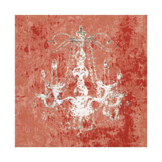 Chandelier Elegance CHANGE COLOR ~ Wrapped Canvas Gallery Wrapped Canvas
