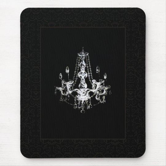 Chandelier Elegance Matted Design ~ Mousepad