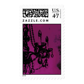 Chandelier Glamour ~ Postage Stamps