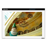 Chandelier Gnome Laptop Decal
