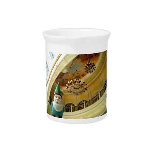 Chandelier Gnome Drink Pitcher
