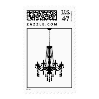 Chandelier Postage Stamps
